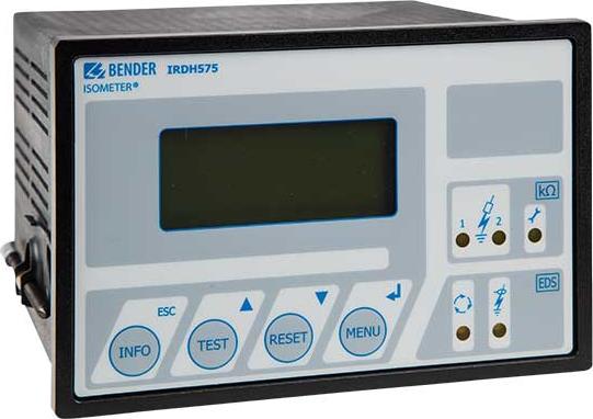 Прибор контроля изоляции А-ISOMETER Bender IRDH575